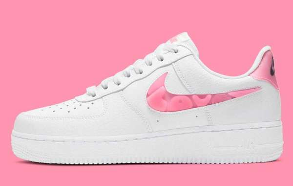 Nike Air Force 1 'Love For All' White Sunset Pulse-Black-Clear Releasing Soon