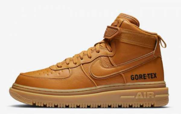 "Just buy a pair of Nike rhubarb boots in winter! Nike Air Force 1 Gore-Tex Boot ""Wheat"" For Sale Online"