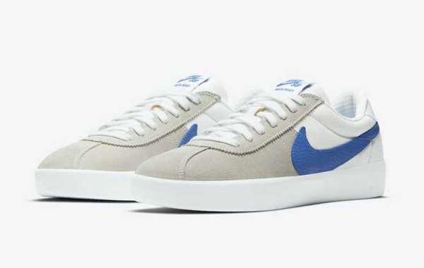Nike Bruin React Medium Grey/Blue/White CJ1661-100 Release Information