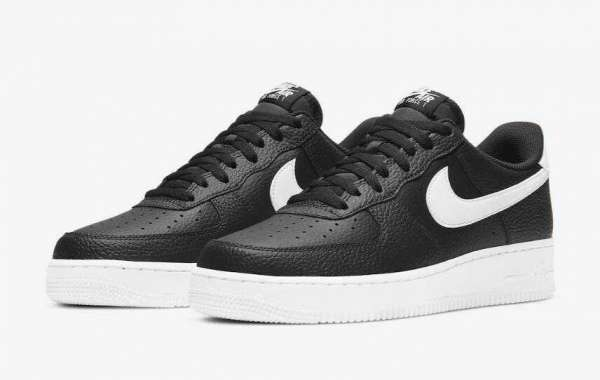 2020 Latest Nike Air Force 1 Low Returns in Classic Black and White