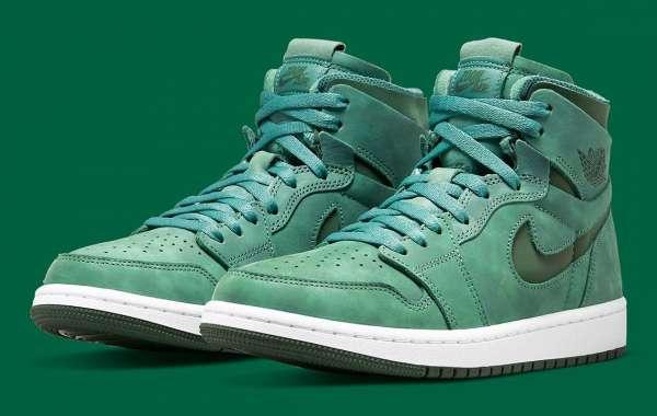 "Air Jordan 1 Zoom CMFT ""Green"" CT0979-301 release information"