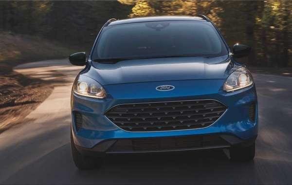 The new Ford Escape compact SUV.